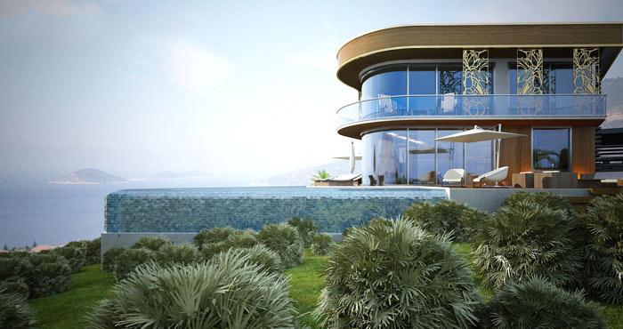 Fethiye ,Kalkan ,Amazing design Villa