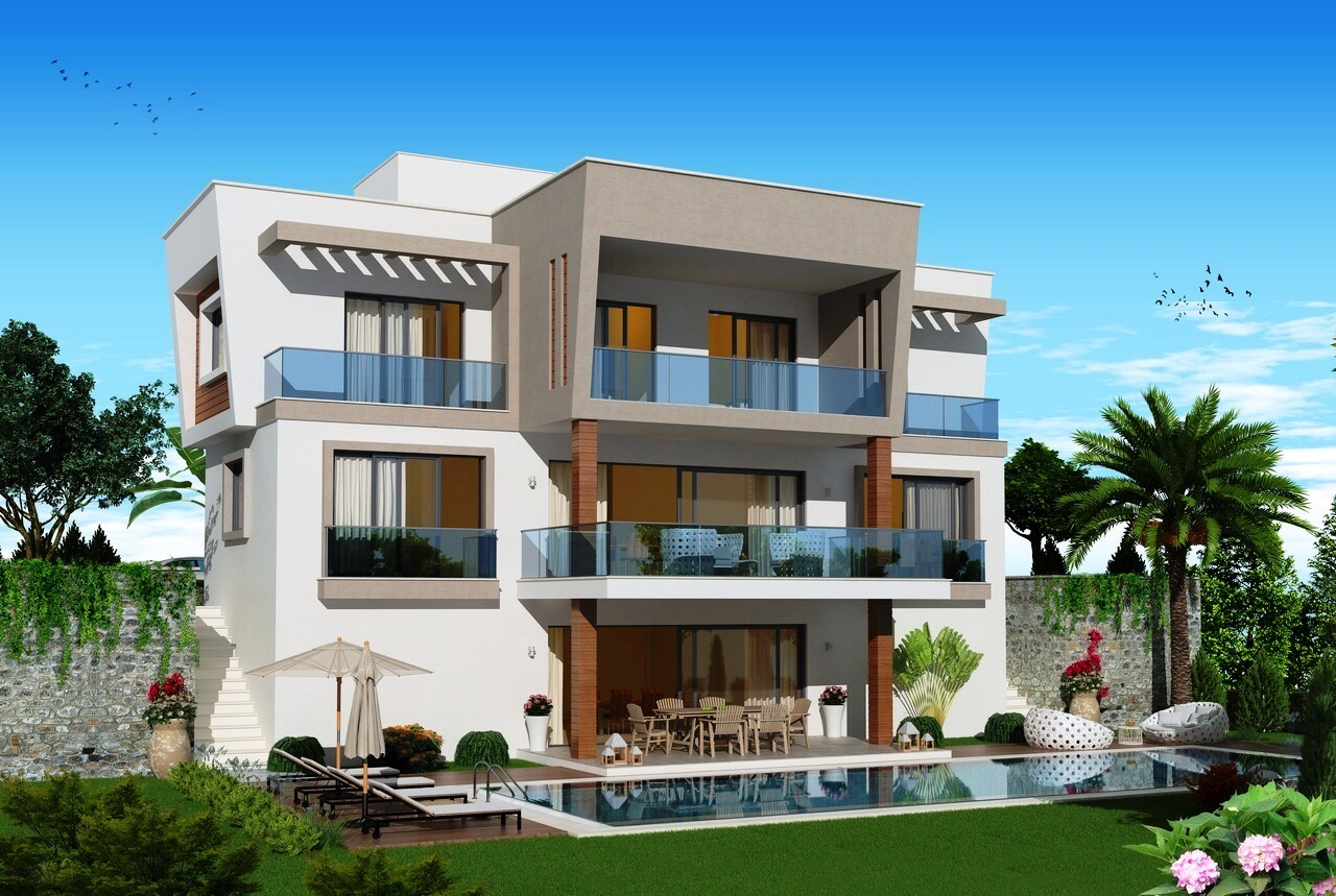 Bodrum – Panoramic  Sea View Modern Villa